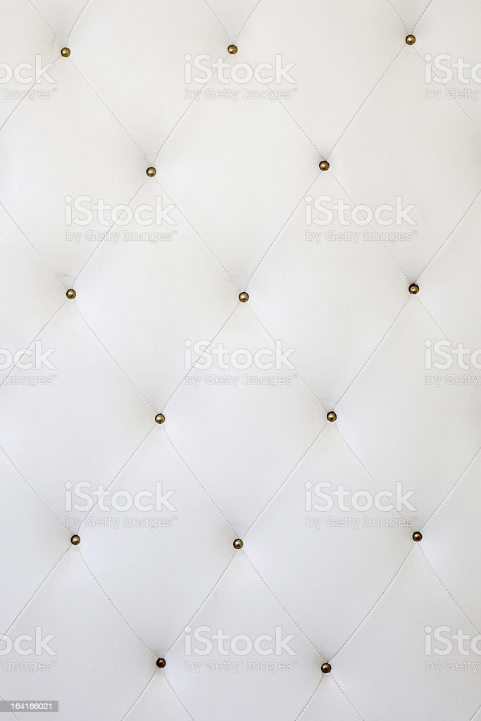 white leather material royalty-free stock photo
