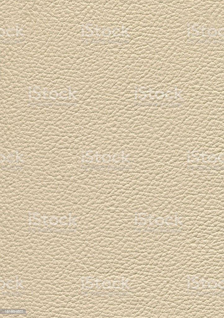 White leather. royalty-free stock photo
