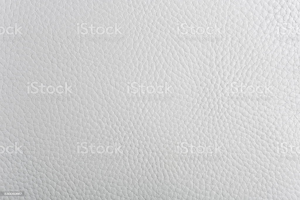 White Leather Texture Background Stock Photo