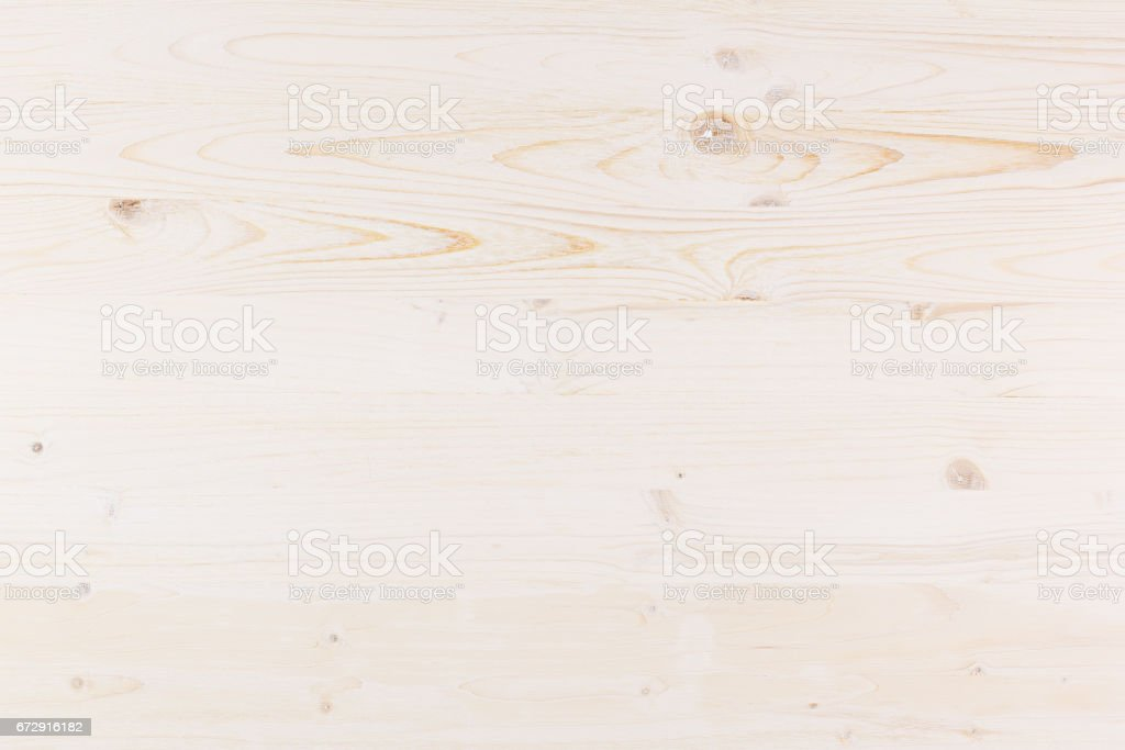 White light new wooden board, texture background. stock photo