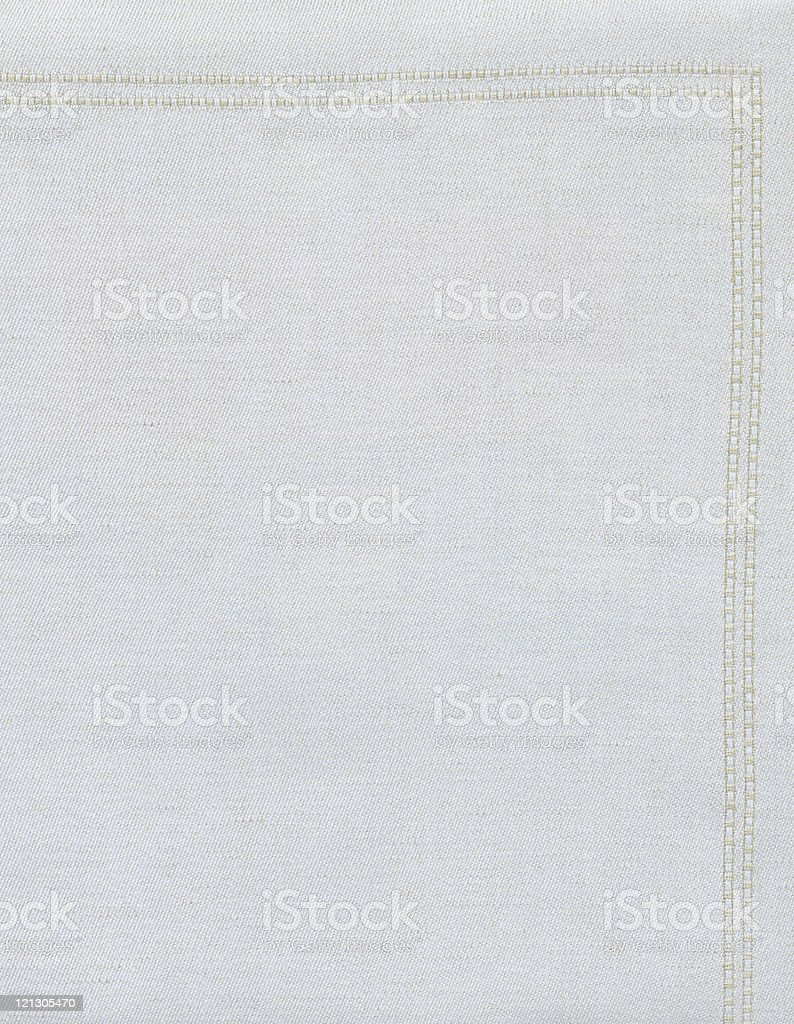 white linen with frame XXL royalty-free stock photo
