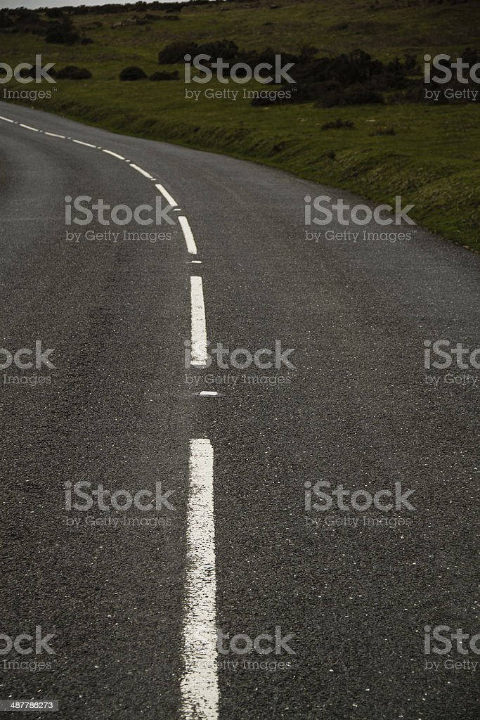 White Lines royalty-free stock photo