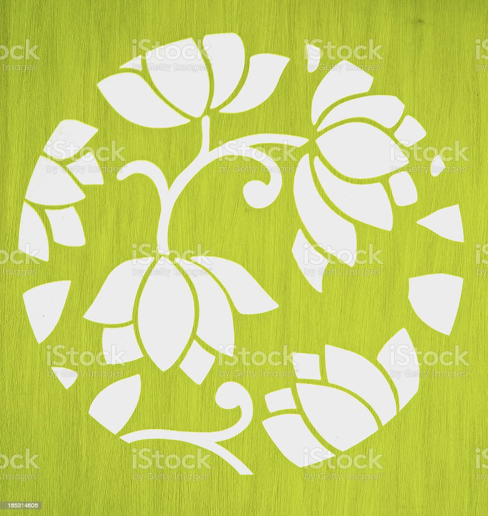 white lotus wallpaper royalty-free stock photo