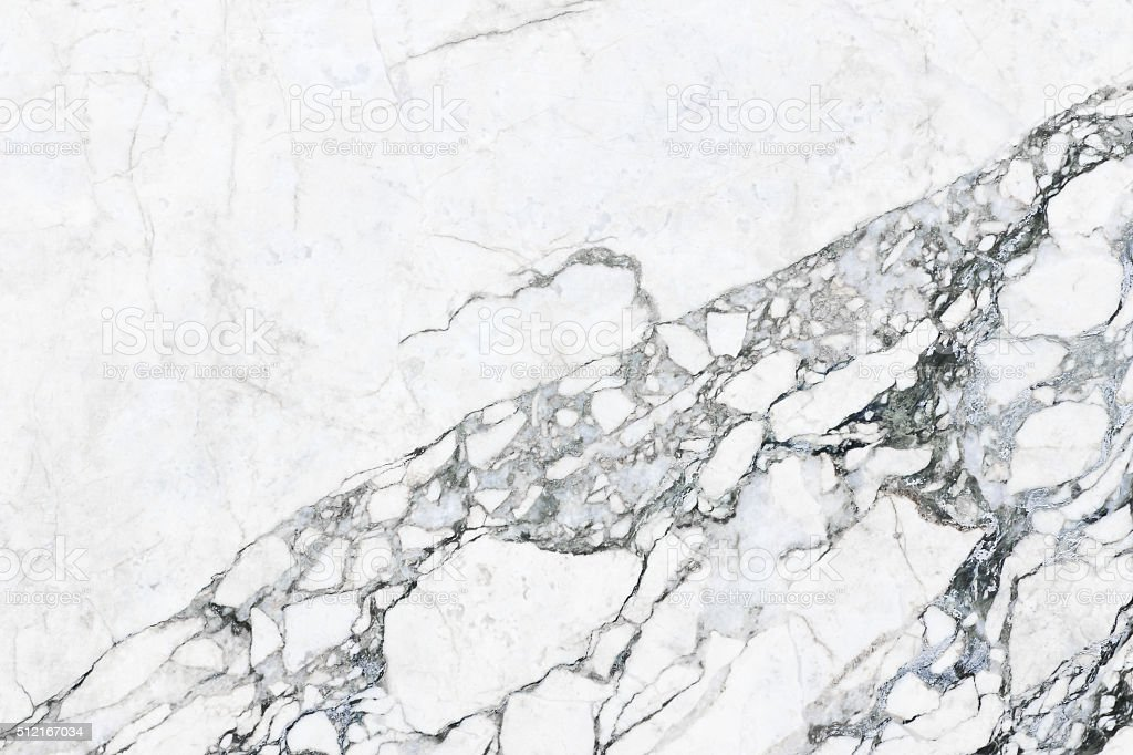 White marble texture abstract background pattern with high resol stock photo
