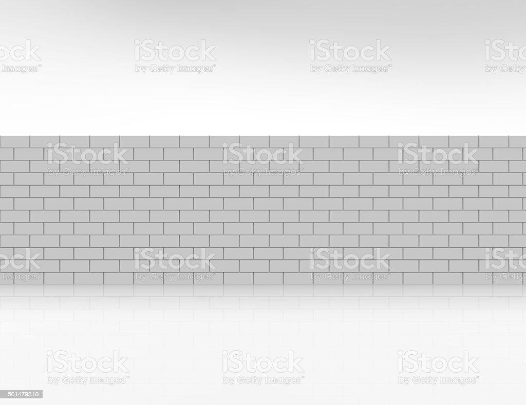 White metro tiles- Background texture stock photo