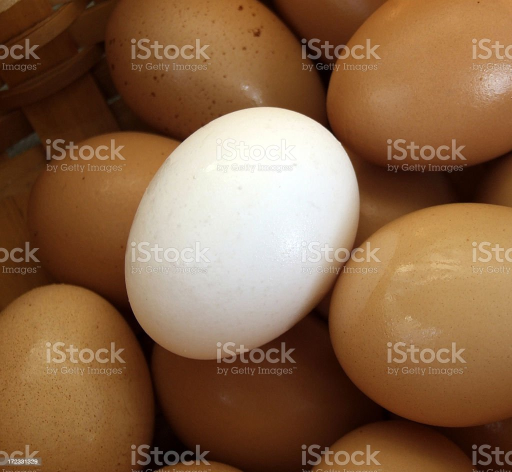 White Minority stock photo