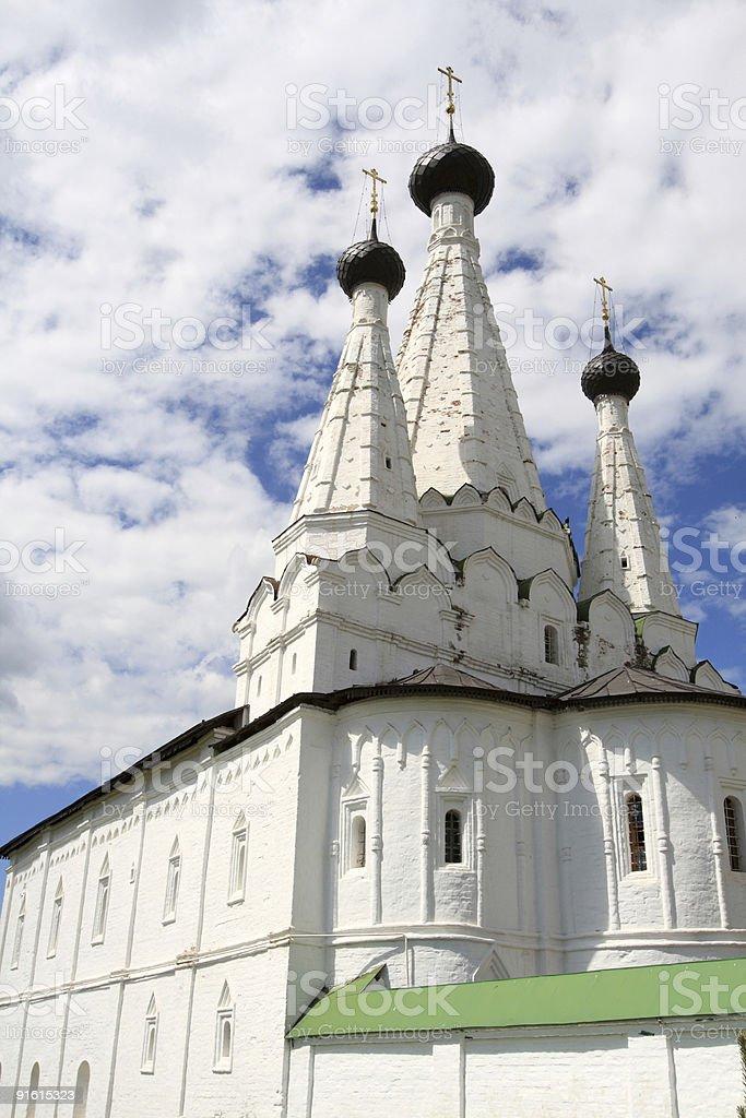 White monastery royalty-free stock photo