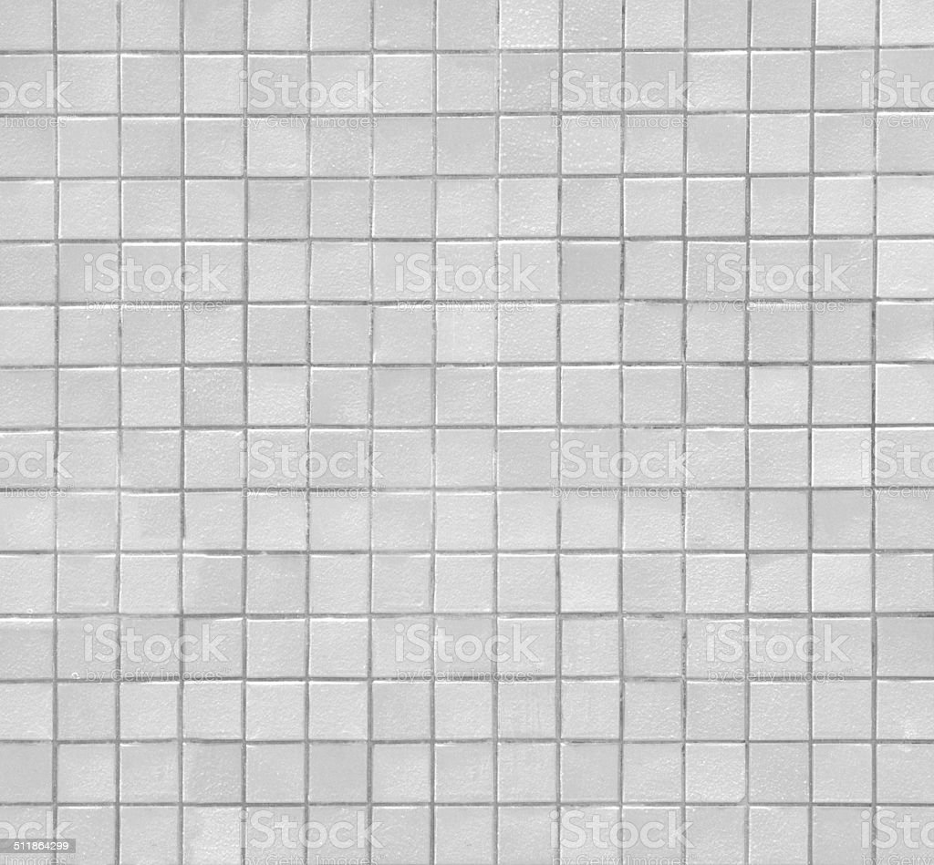white mosaic stock photo