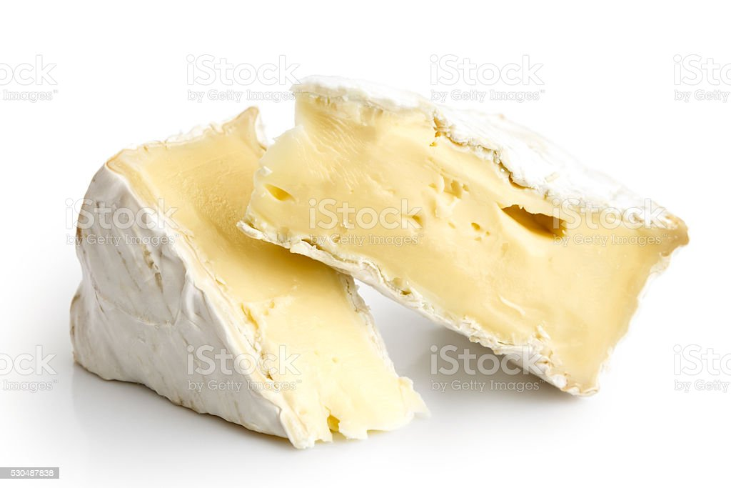White mould cheese. stock photo