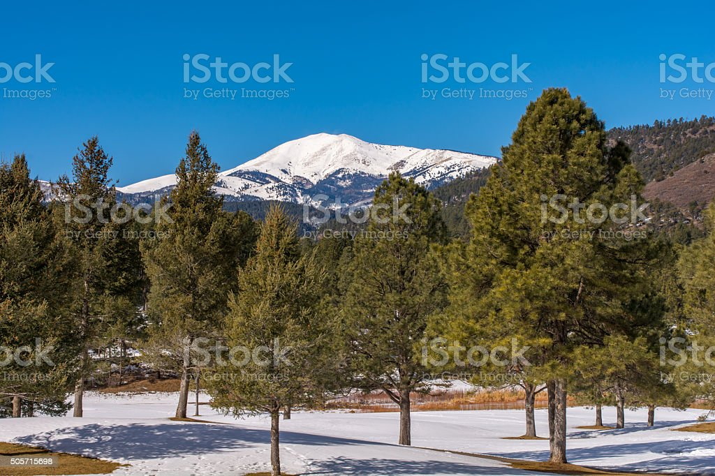 White Mountain stock photo