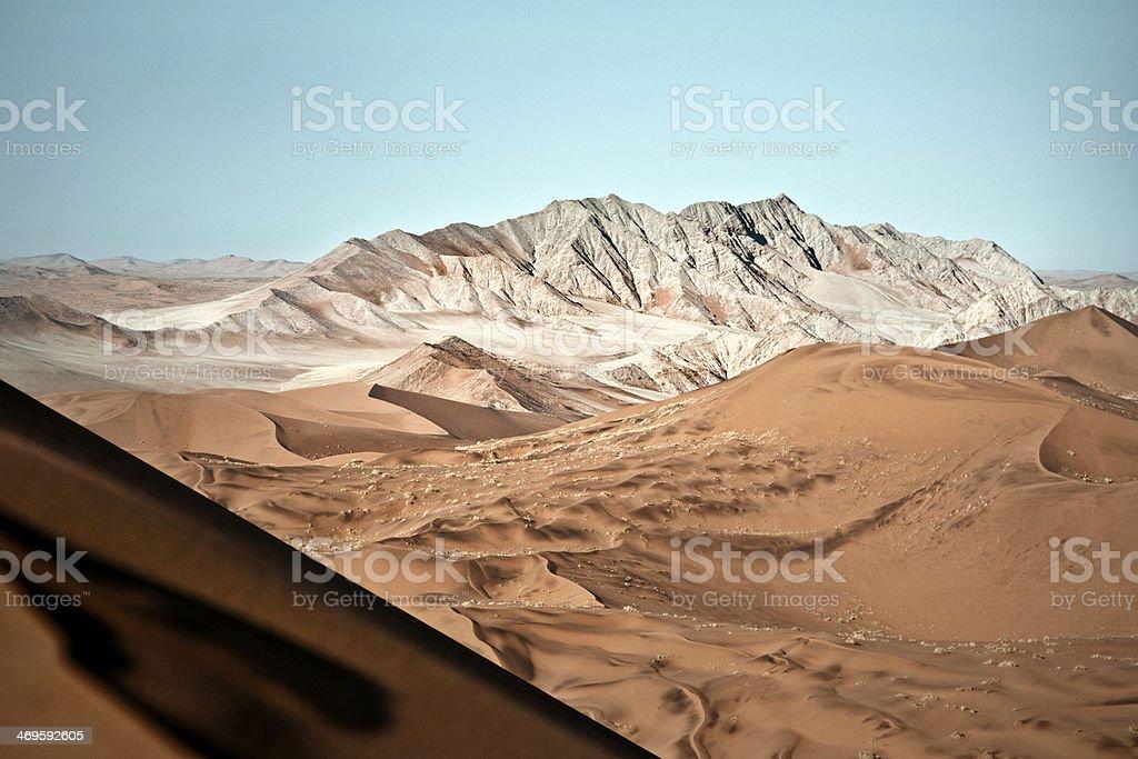 White Mountains Namibia stock photo