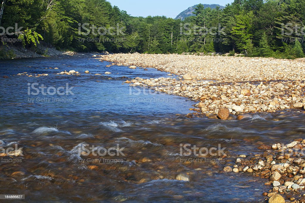 White Mountains River Rapids stock photo