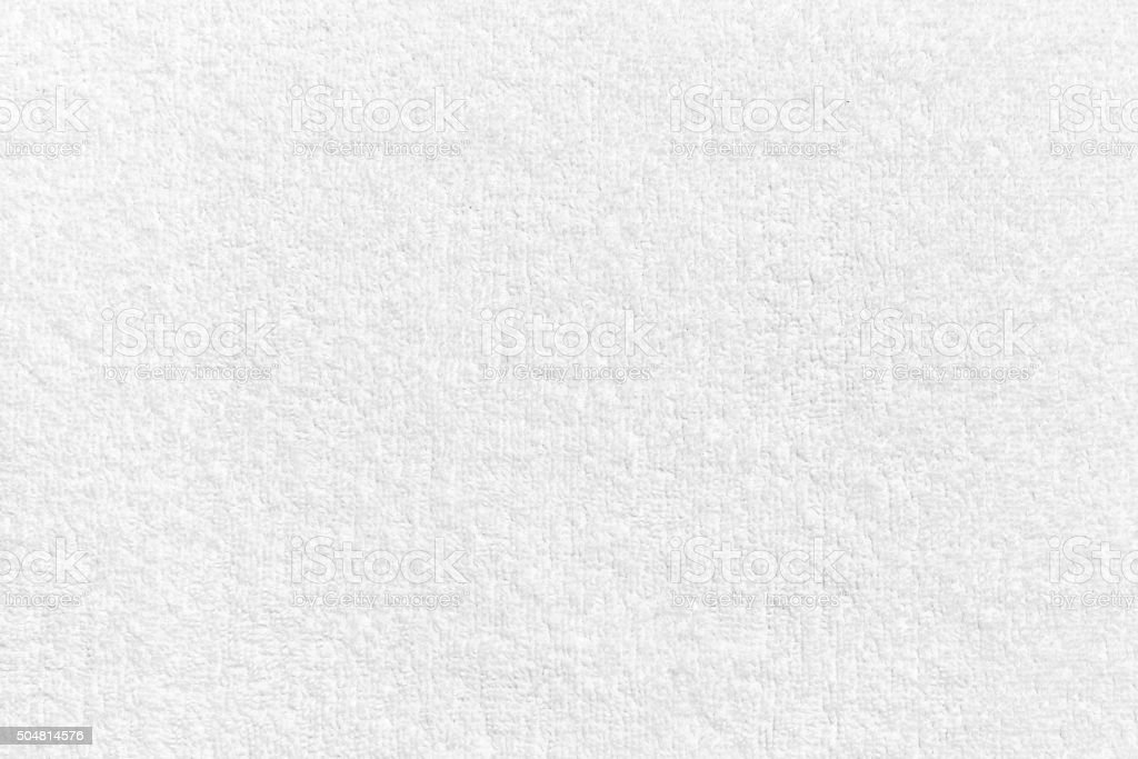 White natural cotton towel  background texture stock photo