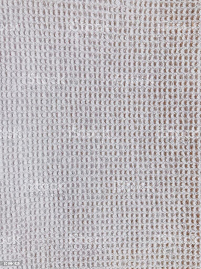 White natural homespun canvas stock photo