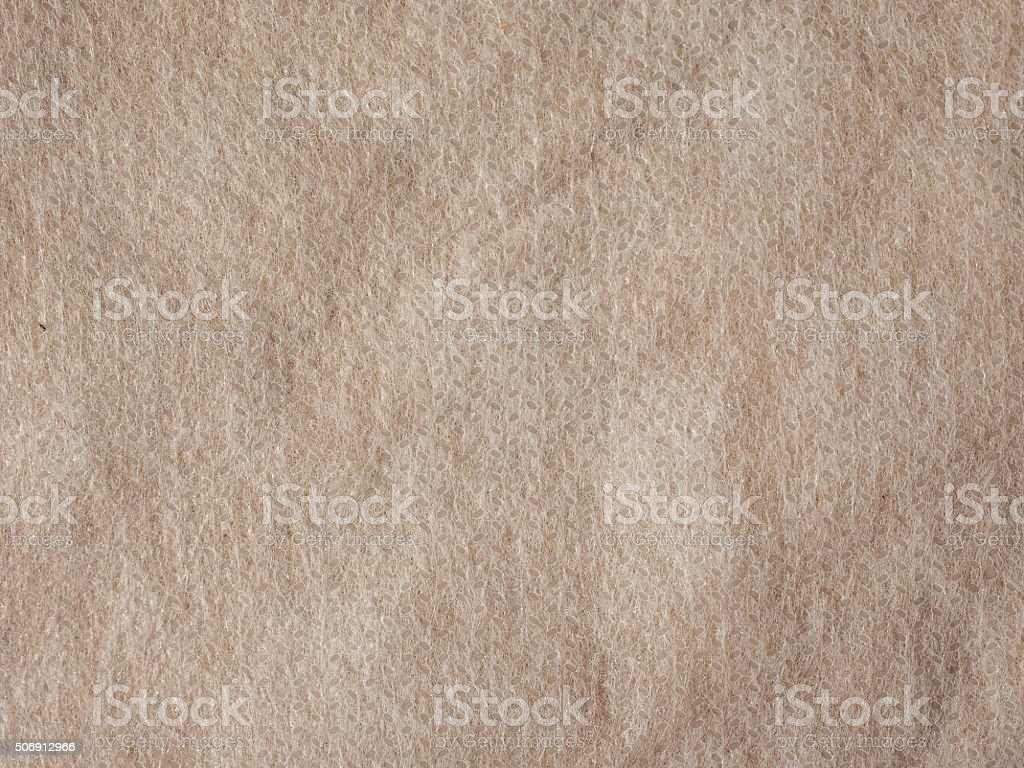 White nonwoven fabric background stock photo