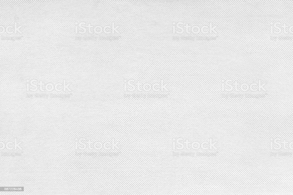 White nonwoven fabric texture stock photo