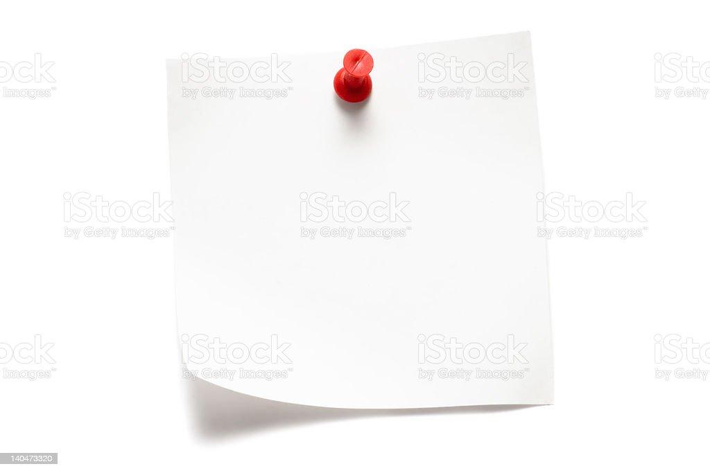 White Note royalty-free stock photo
