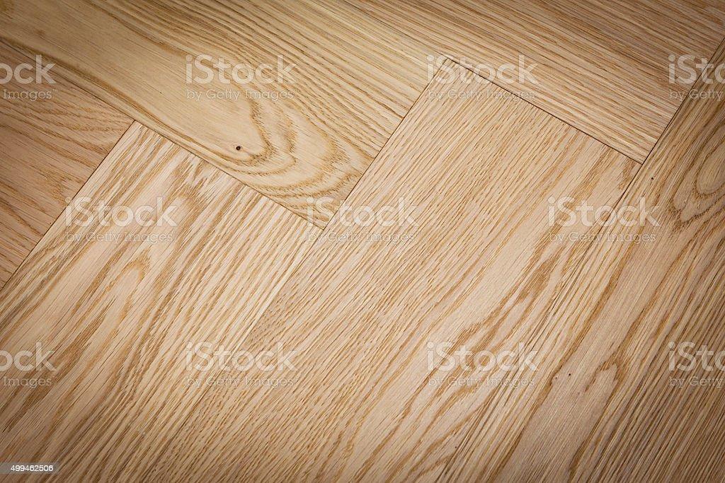 White oak flooring stock photo