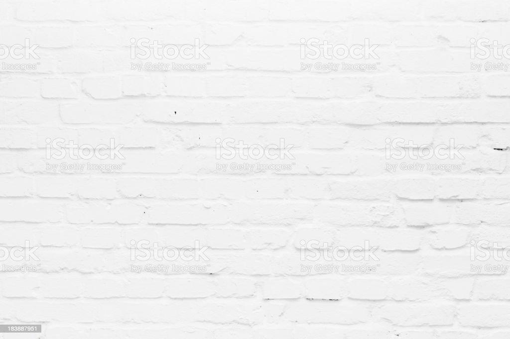 white old brick wall royalty-free stock photo