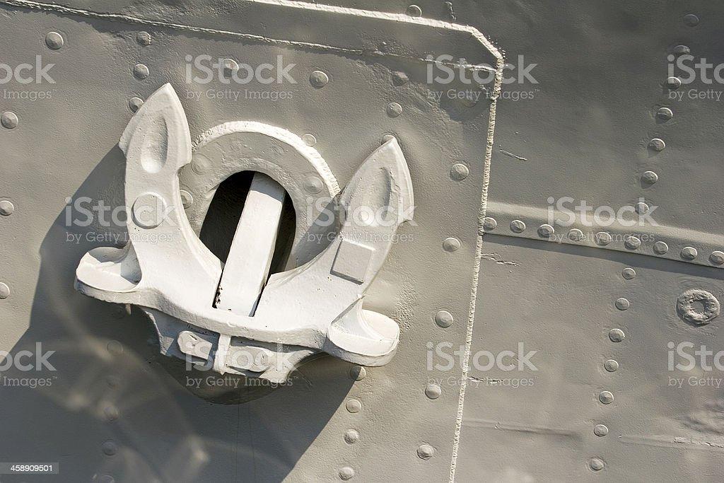White on gray royalty-free stock photo