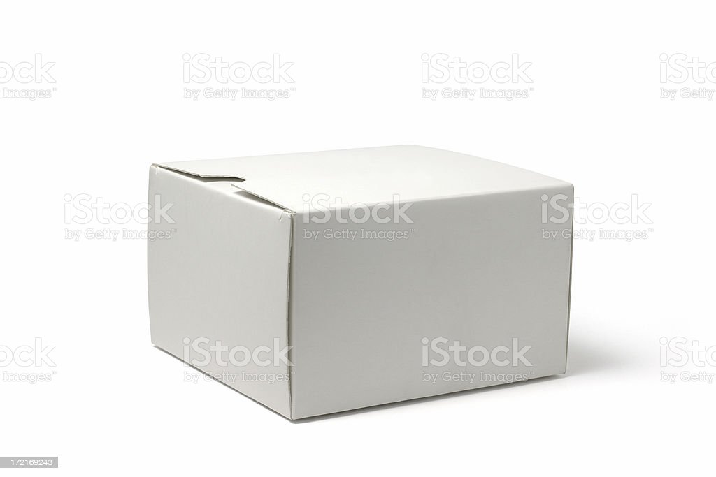 White Package royalty-free stock photo
