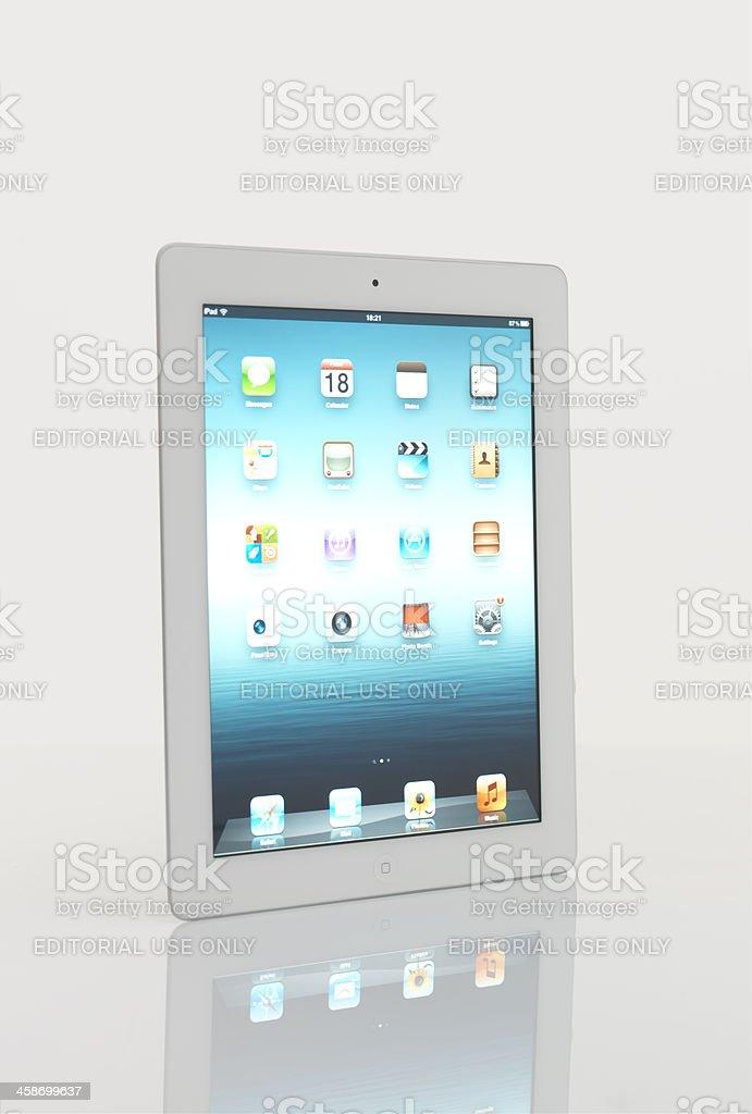 White İpad 2 From Apple stock photo