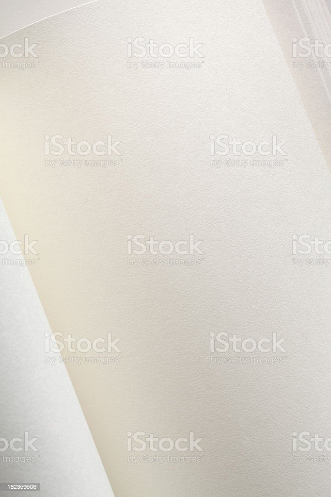White pages of a book royalty-free stock photo