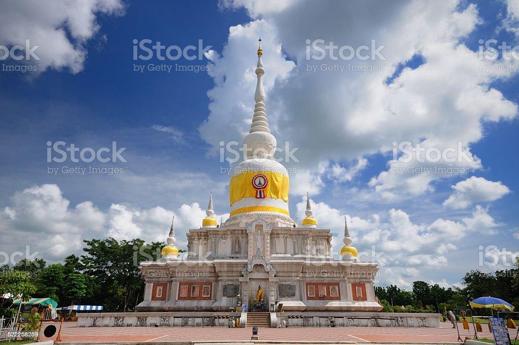 white pagoga stock photo
