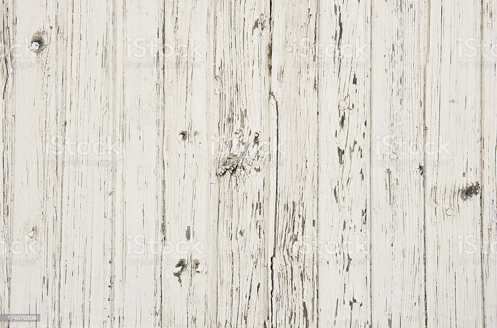 white paint on old wood stock photo