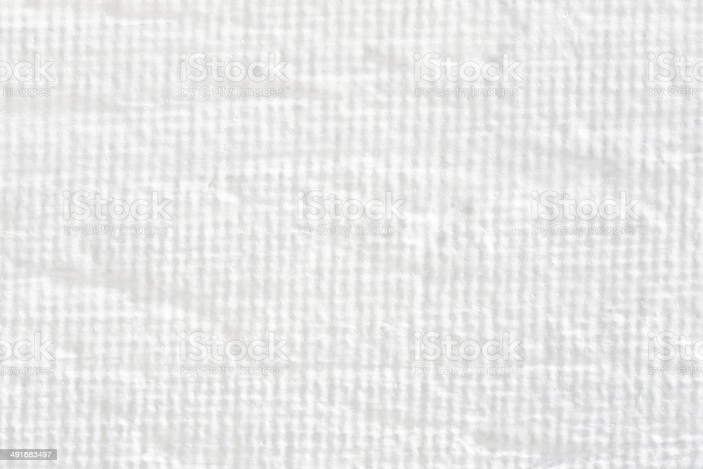White painted canvas with texture stock photo