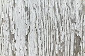 White painted old wood plank texture background