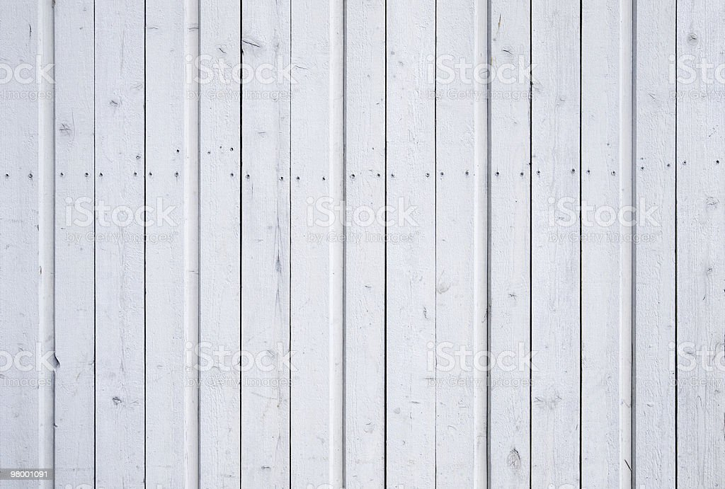 White painted planks royalty-free stock photo