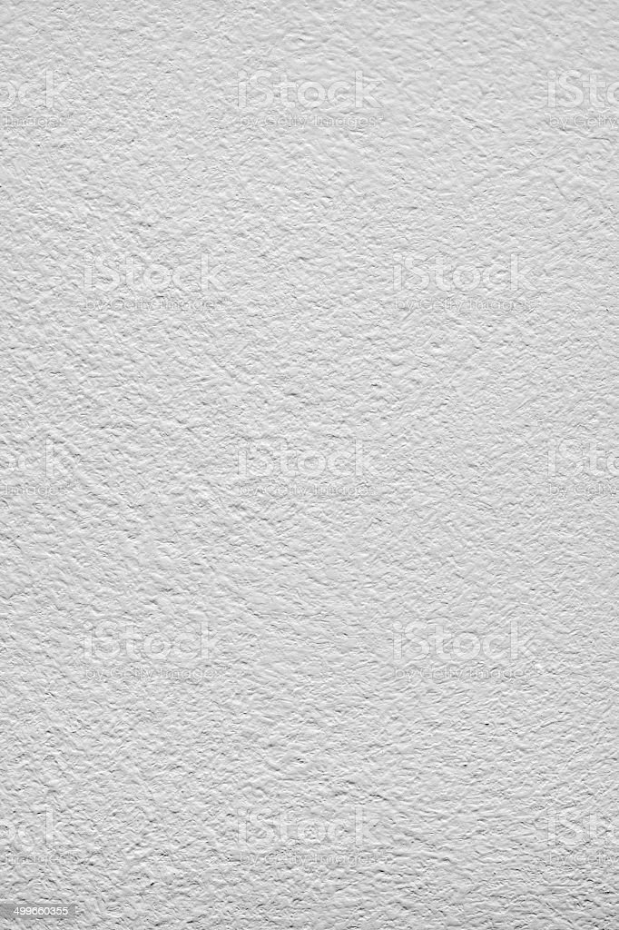 white painted plastered surface stock photo