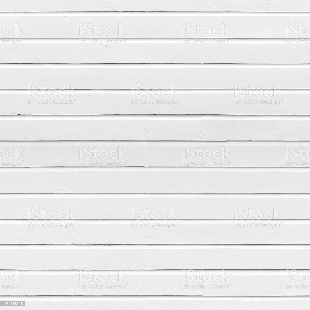 White Painted Timber Wall stock photo