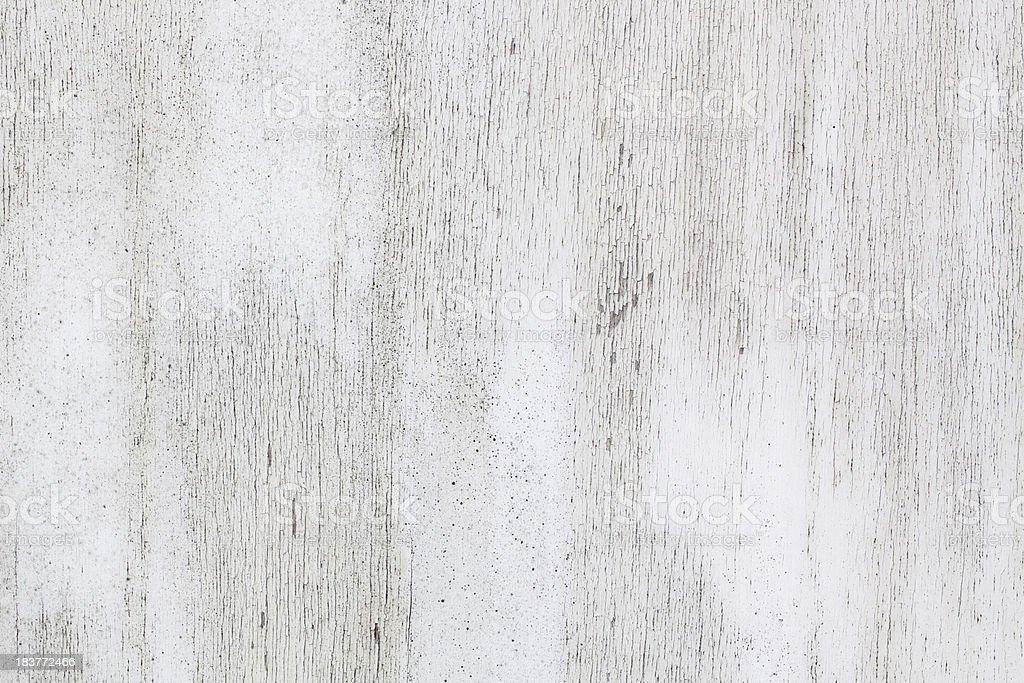 White painted weathered wood stock photo