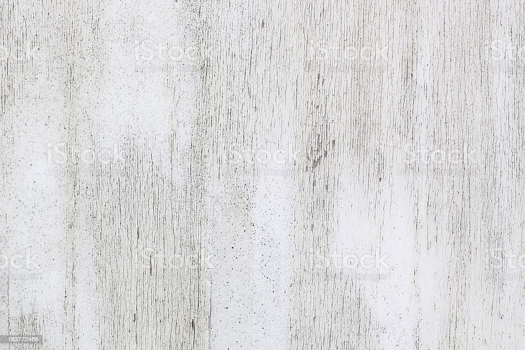 White painted weathered wood stock photo