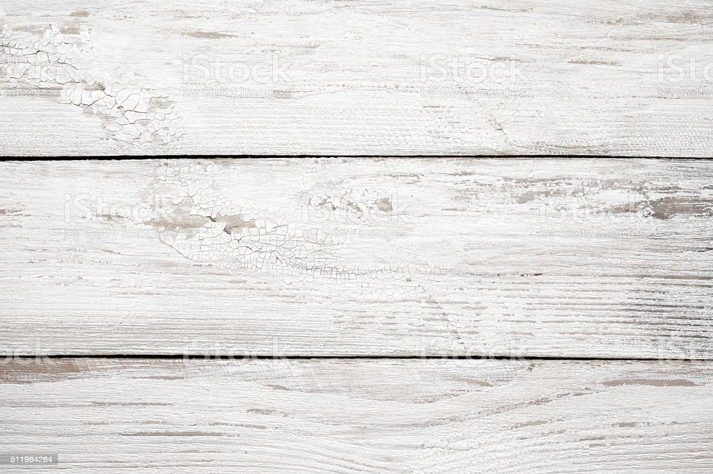 White painted wood texture stock photo