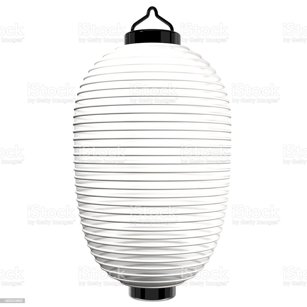 White Paper Lantern stock photo