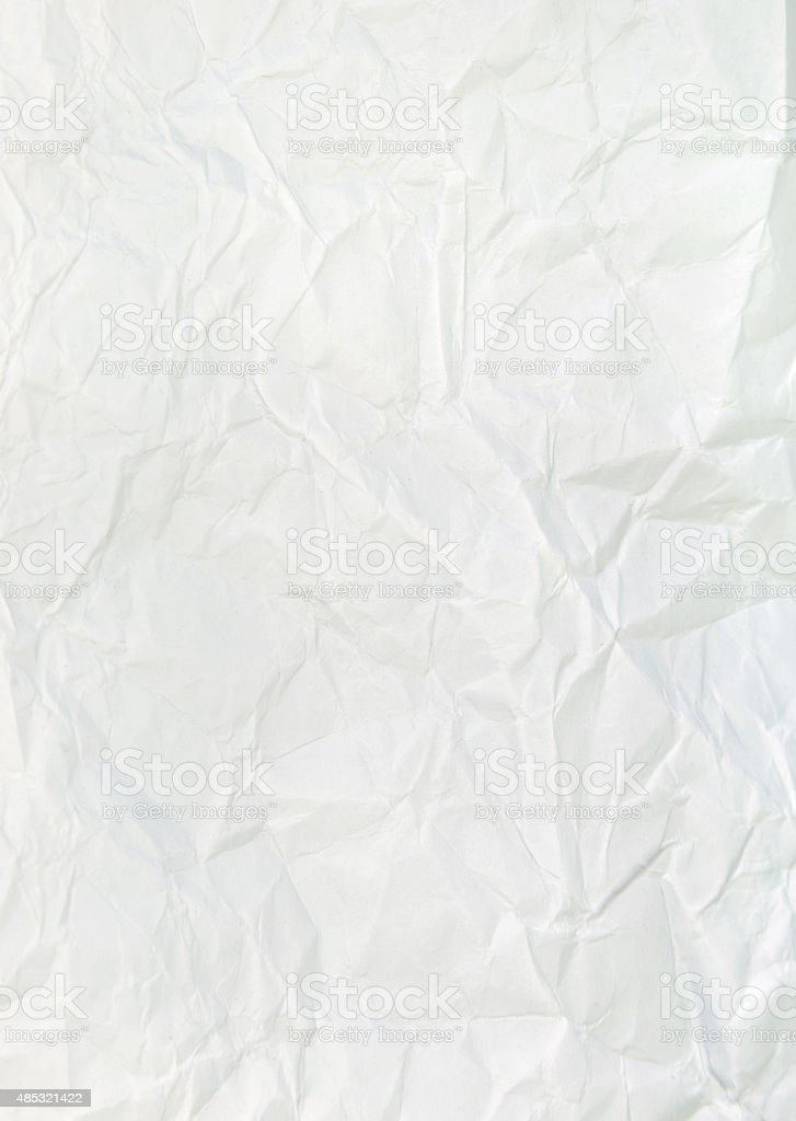 White paper sheet stock photo