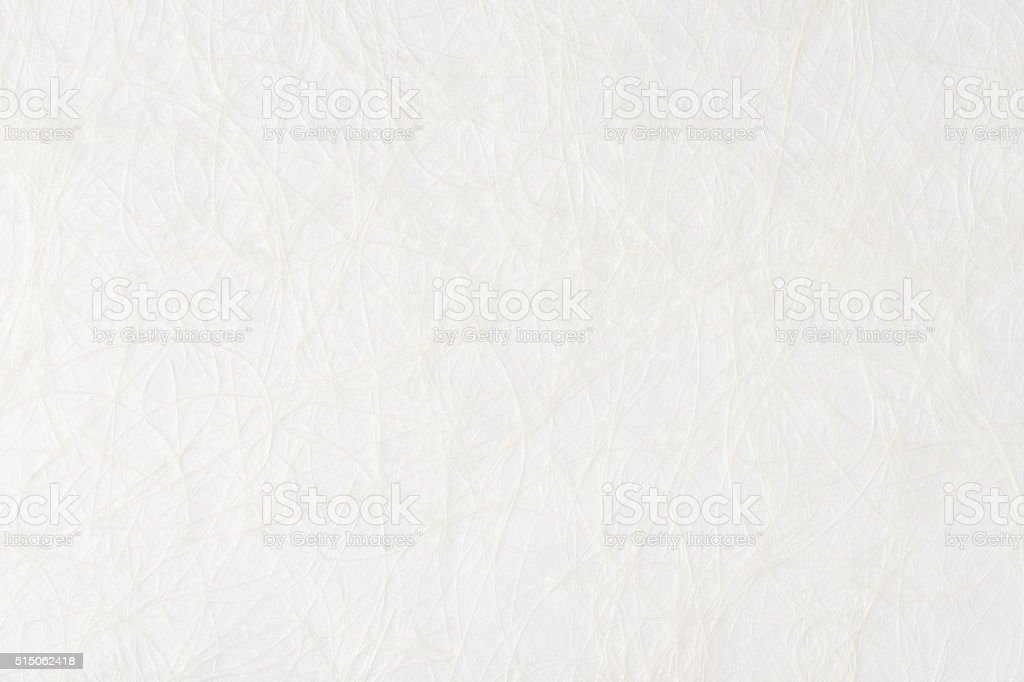 White paper sheet texture background. Embossed yarns, twine, lace pattern. stock photo