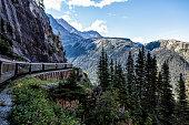 White Pass and Yukon RR Traveling to Skagway, Alaska