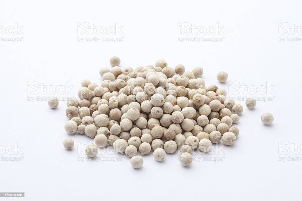 White pepper royalty-free stock photo