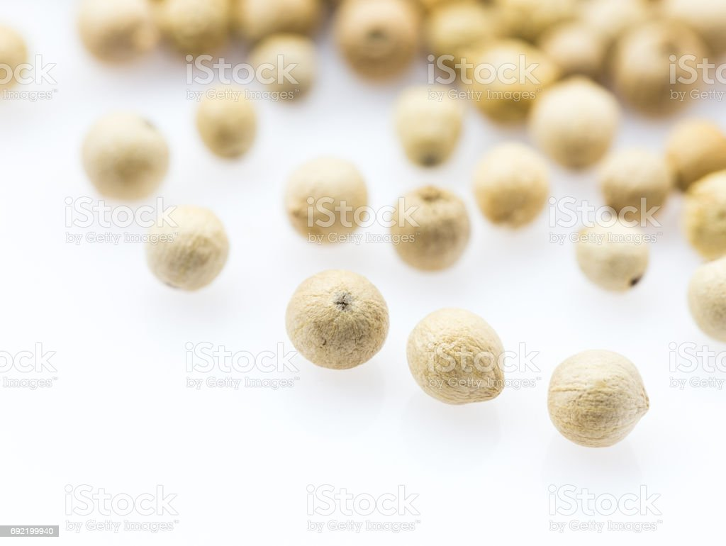 White pepper stock photo
