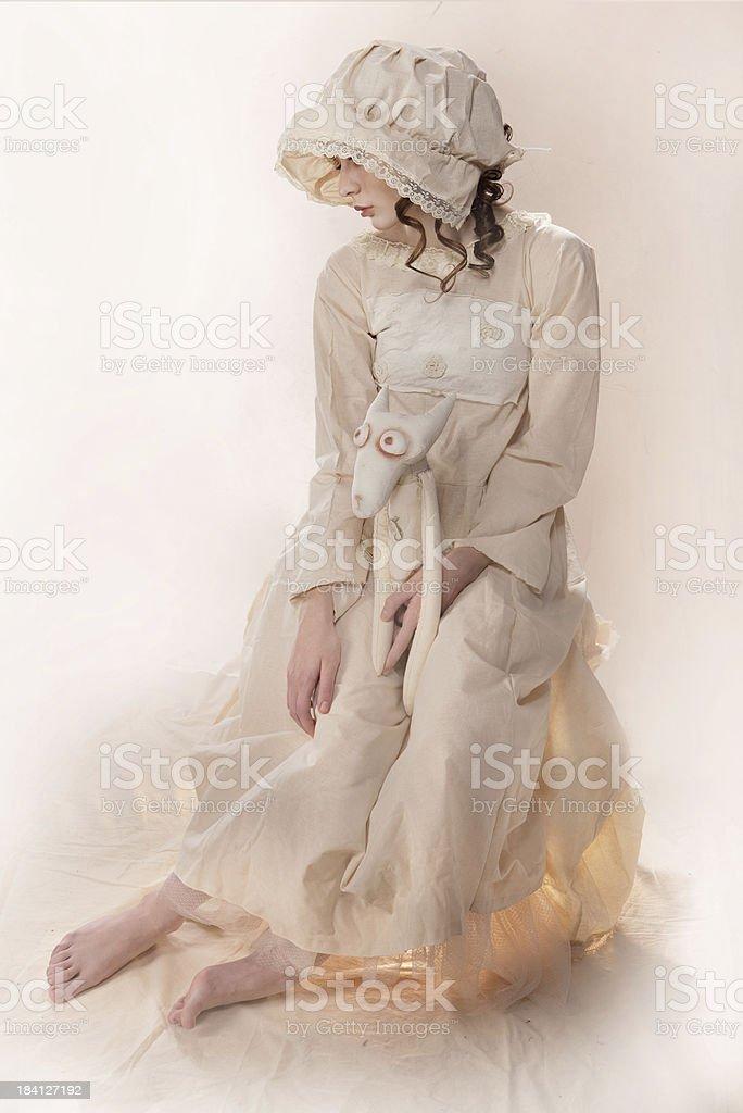 white royalty-free stock photo