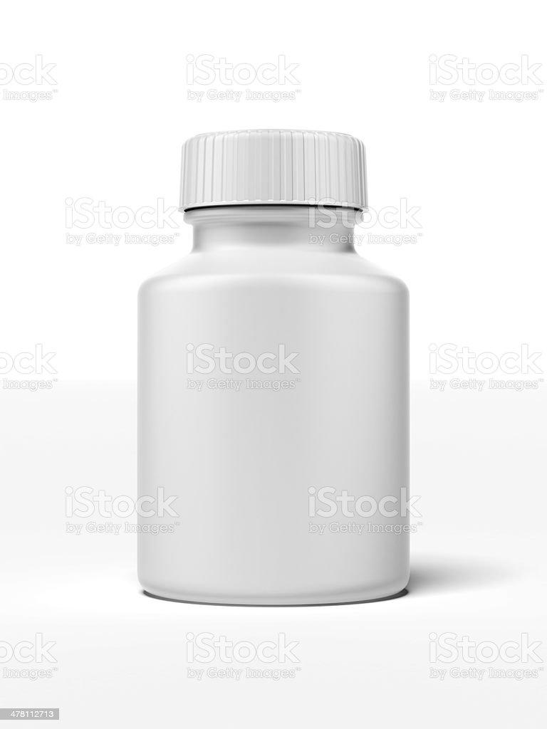white pill bottle royalty-free stock photo