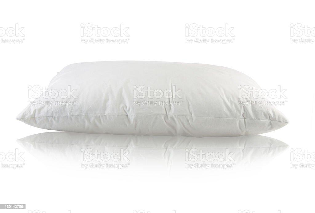 White Pillow royalty-free stock photo