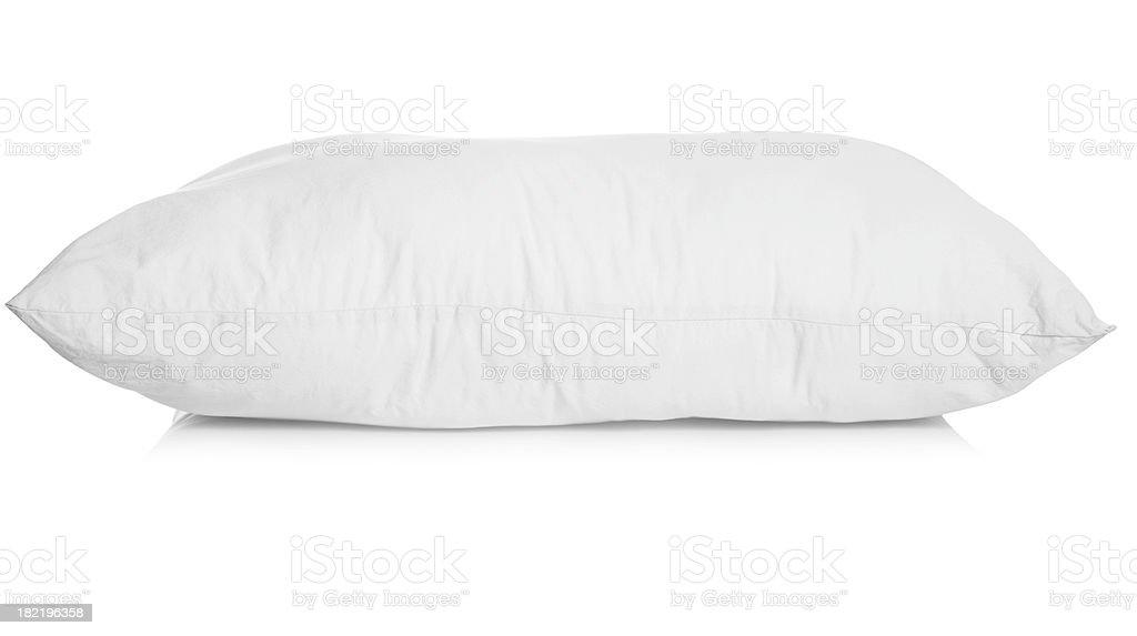 White pillow stock photo