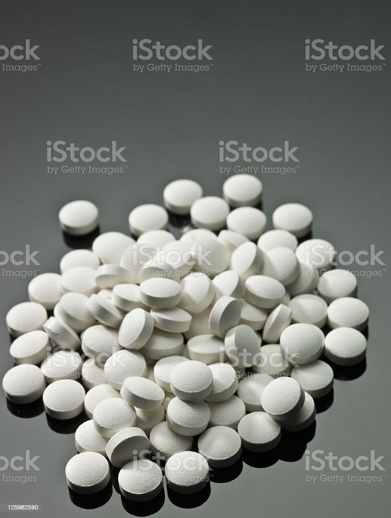 White Pills royalty-free stock photo