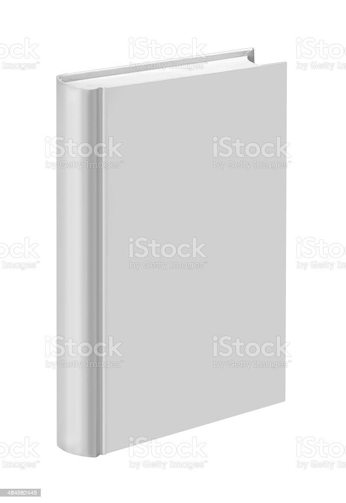White plain book royalty-free stock photo
