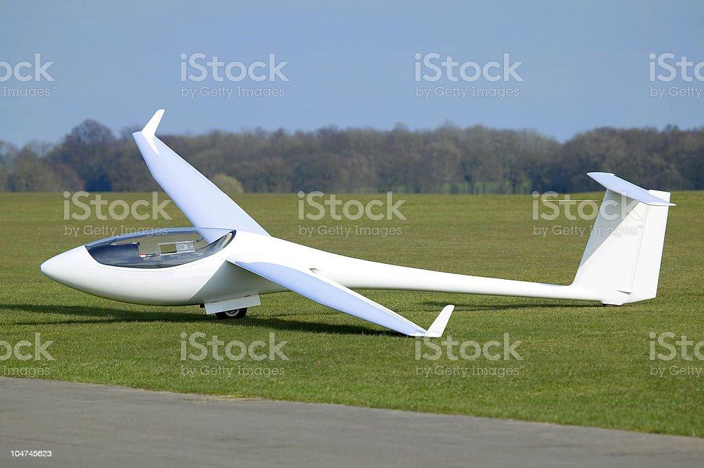 White Plane stock photo